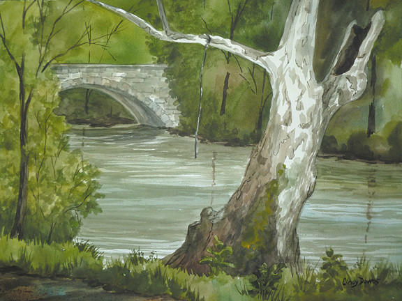 Clear Spring artist Cindy Downs will have an exhibit of her watercolor paintings on display at Hempen Hill restaurant in Hagerstown through the month of April.