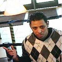 A man who robbed a Chase Bank branch in suburban Glendale Heights.