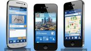 The City of Los Angeles rolled out a new smartphone app Monday that lets users submit 311 service requests, such as to fix potholes and remove graffiti.