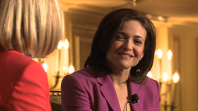 Press Pass: Sheryl Sandberg