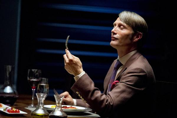 "Mads Mikkelson stars as Dr. Hannibal Lecter in NBC's ""Hannibal."""
