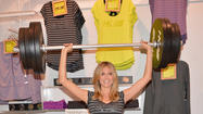 """Heidi Klum For New Balance"" Collection Launch At Lady Foot Locker"