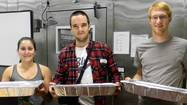 On a recent evening, students at Pomona College feasted on chicken pot pie, steamed veggies, biscuits and rice. And, as is often the case, there were plenty of leftovers in the dining hall, enough for about 100 extra meals.