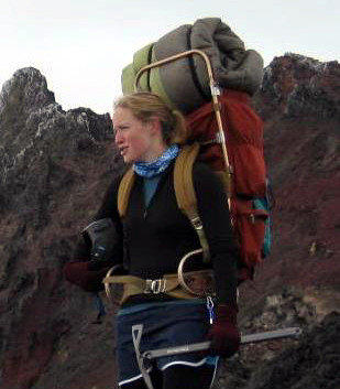 Mary Owen, shown in a family photo, was rescued after being stranded on Oregon's Mt. Hood for six days.