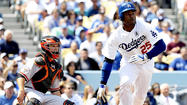 All spring, Carl Crawford told anyone who would listen that he would be ready for the Dodgers' game on opening day.