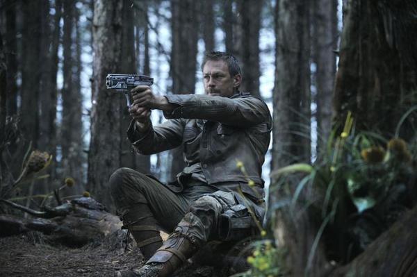 "Grant Bowler stars in Syfy's ""Defiance."""