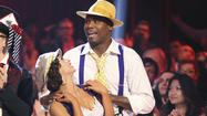 Jacoby Jones struts sexy, sexy rhumba moves on 'DWTS'