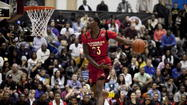 McDonald's All-American games | Parker third in dunk contest; Walker takes title