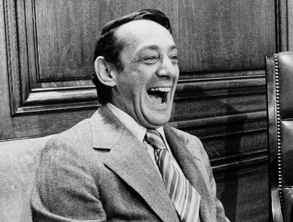 Harvey Milk in 1977. A new concert piece about the slain gay rights activist will premiere in San Francisco.