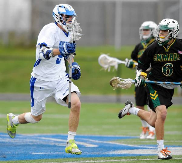 Nazareth's Grant Searfoss is a midfielder and attacker who is counted on for scoring and leadership.