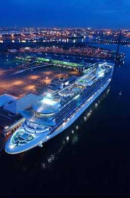 Princess Cruises' Star Princess sails from Fort Lauderdale.