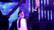 In the final segment of Raw, a Paul Bearer impostor (who looked like Paul Heyman) flanked by Druids mocked the Undertaker with the urn. The Deadman then got beat down by CM Punk before Punk opened the urn and scattered the ashes inside on 'Taker's body and bathed himself in it.