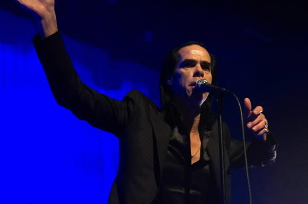 Nick Cave performs in Los Angeles in February.