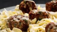 Meatballs embrace the best merits of ground meat. They are economical per pound, easy to portion and play well with others, especially bold flavors such as fresh herbs, spices and cheese. In our house, we welcome highly-seasoned versions as well as those cooked golden and sauced creamily.