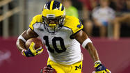 Michigan receiver Jeremy Gallon was the leading wide receiver for the Wolverines in 2012 and hopes for bigger and better things in 2013.