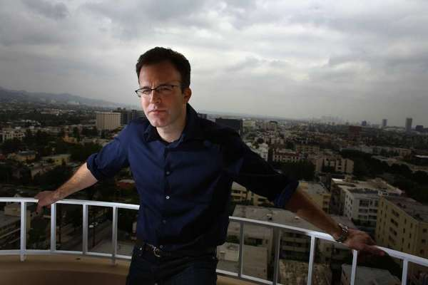 Writer/director Tom McCarthy, photographed at the Four Seasons hotel in Beverly Hills in 2008, is on board to direct a co-write film based on Boston Globe's expose of the Catholic priest scandal.