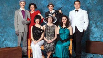 Berlin Brothersvalley School District presents Anything Goes at 7:30 p.m. April Friday and Saturday, and 2:30 p.m. Sunday. Some cast members are from left, front row: Brooke Little, Lara Will, Emily Philip. Second row: Alex Ickes, Kelsey Snyder, Jacob Emerick and Benjamin Clegg.