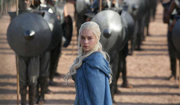 "Emilia Clarke stars as Daenerys in ""Game of Thrones."""