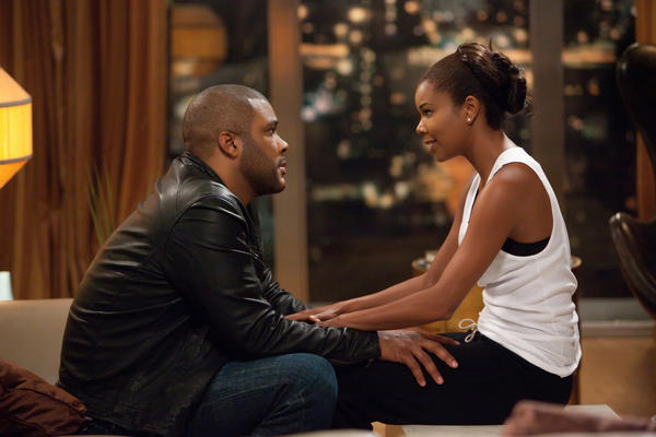 "Gabrielle Union, with Tyler Perry in ""Tyler Perry's Good Deeds,"" will star in a new BET series, ""Being Mary Jane."""