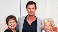 "Mary Barnes, left, Jeff Lewis and Herme de Wyman Miro at the inaugural ""Design Expose: Intimate Secrets Revealed"" luncheon. Interior designer and TV personality Lewis was a highlight at the event, hosted by Alzheimer's Community Care. Submitted photo"