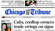 If you read front page stories about Groupon, the city's Wrigley Field negotiations between neighbors and the Chicago Cubs, or the prolonged effects of the recession, chances are you've read the work of business reporter Ameet Sachdev. He spoke with Trib Nation: