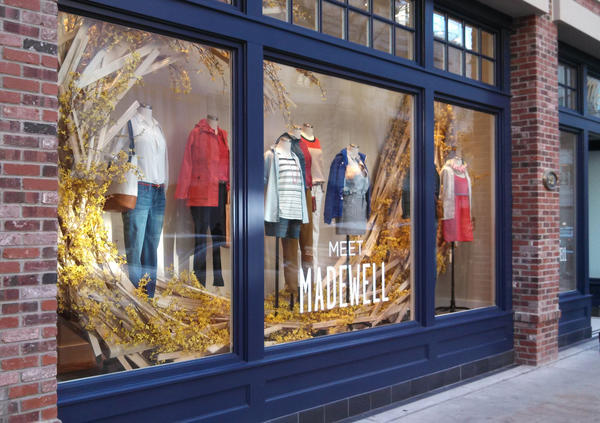 The first Chicago location of Madewell opens April 3 on Rush Street.