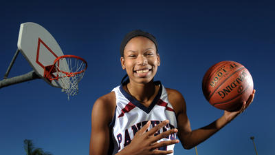 Keyanna Harris: girls basketball Player of the Year Class 8A-7A-6A