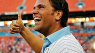"Mike Piazza, who looked so good in pinstripes during his half-hour as a member of the then-Florida Marlins,  will put on similarly fashionable  stripes when he takes the stage May 3 in Miami City Ballet's production of George Balanchine's ""Slaughter on Tenth Avenue"" at the Adrienne Arsht Center in Miami."
