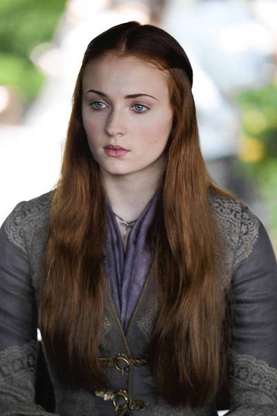 "Sophie Turner plays Sansa on HBO's ""Game of Thrones."""