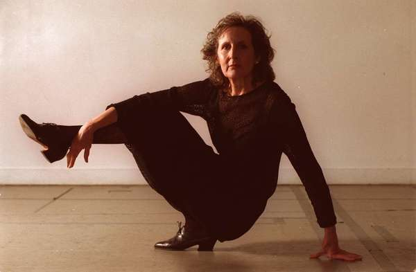 Trisha Brown in her New York studio in 1997.