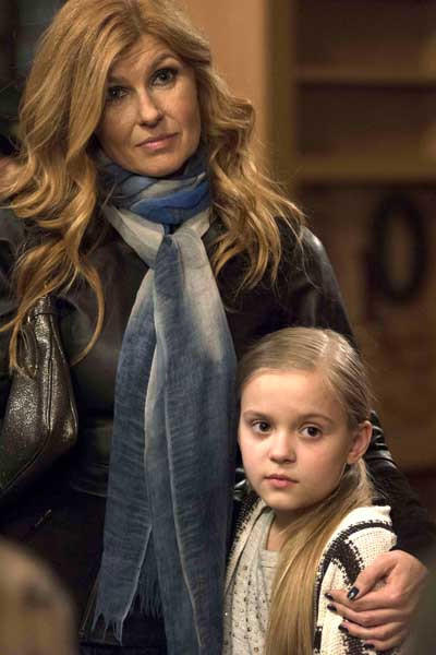 "Connie Britton, left, with Maisy Stella in ""Nashville"" on ABC"
