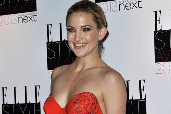 Kate Hudson attends the Elle Style Awards at the Savoy Hotel on Feb. 11 in London.