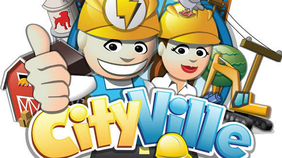 The logo from CityVille, one of Zynga's online games.