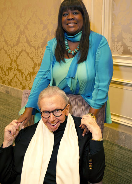 Chaz and Roger Ebert attend the Making History Awards Dinner in Chicago.