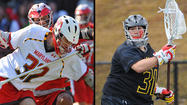 North Carolina senior midfielder <strong>Davey Emala </strong>(Gilman) and Maryland sophomore attackman <strong>Jay Carlson</strong> (St. Paul's) were named Atlantic Coast Conference men's lacrosse Co-Offensive Players of the Week, as announced Tuesday by the conference, while Terps goalkeeper <strong>Niko Amato</strong> was recognized as the Defensive Player of the Week.