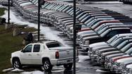 Surging truck sales paved the way for one of the biggest auto sales months in nearly six years.