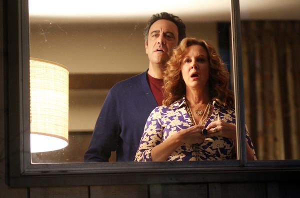 "Brad Garrett and Elizabeth Perkins star in ""How to Live With Your Parents (For the Rest of Your Life)."""