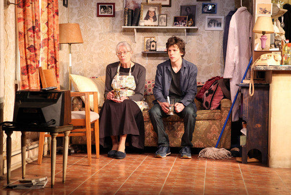 "Vanessa Redgrave and Jesse Eisenberg star in ""The Revisionist."""