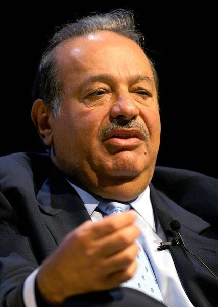 Telmex, owned by Carlos Slim, pictured in 2005, provides about 80% of fixed telephone lines in Mexico.