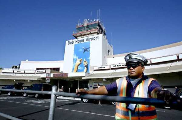 ARCHIVE PHOTO: Airline changes hit Burbank's Bob Hope Airport in February 2012. American Airlines halted its operations at Bob Hope. Staff cited this as a factor to explain some of the passenger declines. This past January, JetBlue Airways eliminated all daytime flights at the airport.