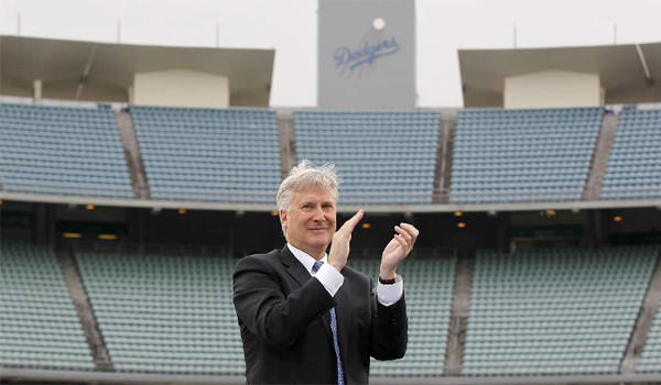 "Guggenheim Baseball Management's Mark Walter told ""60 Minutes"" the group's extravagant $2.15-billion bid for the Dodgers was a preemptive measure to keep others from joining the auction."