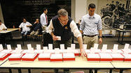 Photo Gallery: Election day ballots in Glendale are counted