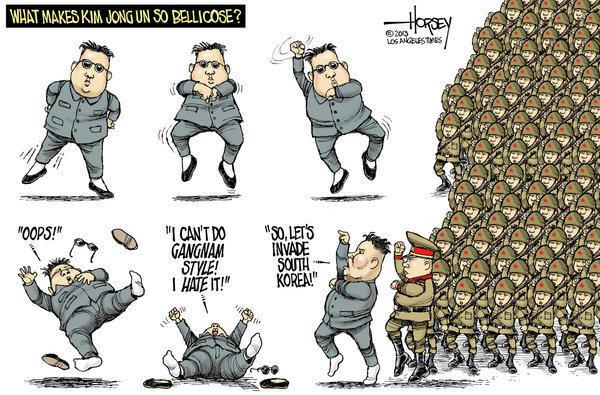 Kim Jong Un lacks Gangnam style