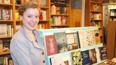 Katie Capaldi, 29, is the new owner of Between The Covers Bookstore in Harbor Springs.