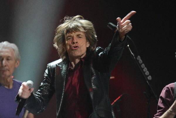 The Rolling Stones performing at Madison Square Garden in New York last year.