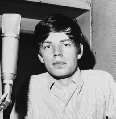 An early portrait of Rolling Stones singer Mick Jagger, circa 1963.