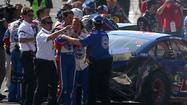 When we last saw NASCAR in action, at Fontana, there was a last-lap crash among the leaders, a post-race brawl between Joey Logano and Tony Stewart, and an ambulance was taking away an injured Denny Hamlin.
