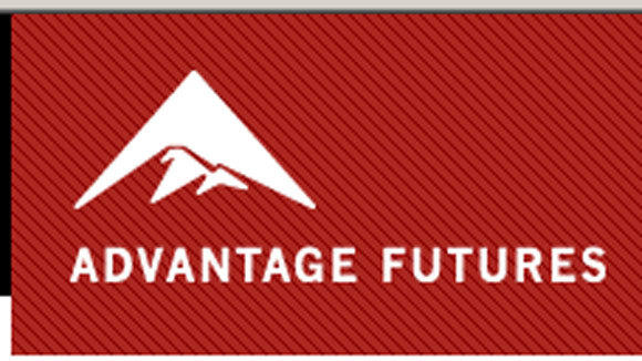 A screen grab of the Advantage Futures logo.