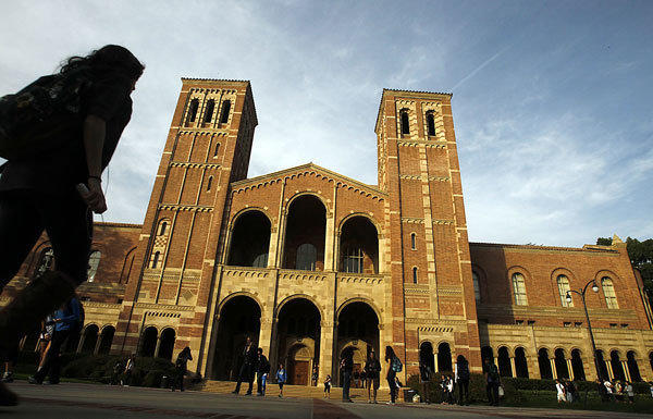 UCLA's campus in Westwood.