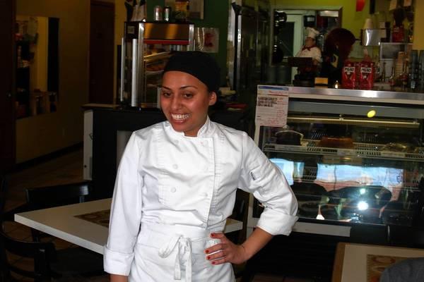 Cristiane Pereira, owner of Taste of Brasil Cafe in Oak Park.